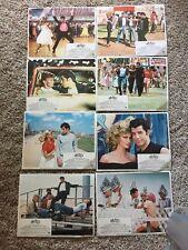 Grease Movie Poster Orig Lobby Card Set of 8 Olivia Newton John Travolta 1978