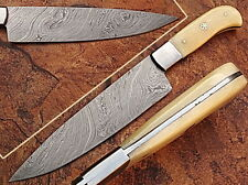CUSTOM MADE DAMASCUS BLADE  CHEF/KITCHEN KNIFE- A-E 04