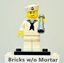 New Genuine LEGO Sailor Minifig and Telescope Series 4 8804
