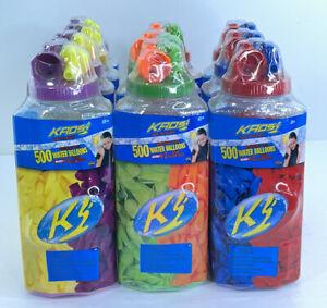 Kaos Water Splashers 500ct Water Balloons Biodegradable Latex Lot Of 10