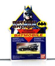 1989 Bandai Batman HI-Speed Motorised Batmobile 9200 Unpunched