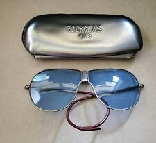 1940s Rockglas Beck Aviators With Case