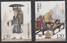 China 2016-24 Xuanzang stamp set MNH