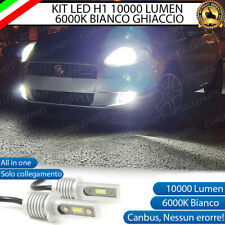 KIT FULL LED FENDINEBBIA FIAT GRANDE PUNTO LAMPADE LED H1 NOERROR 6000K 10000LM