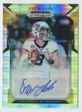 Drew Lock 2019 Panini Prizm draft picks #110 RC rookie pulsar prizm auto /25