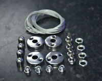 25X SUSPENSION MOUNTING WIRE HANGING FIXING KIT FOR LED CEILING PANEL 600 X 600
