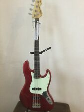 Vintage Jazz Bass Guitar. VJ 74 CAR. [CANDY APPLE JAZZ!]