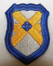 WWII 62nd CAVALRY DIVISION EMBROIDERED COTTON PATCH WITH CUT EDGE
