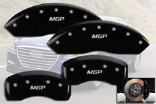 2017-2018 Genesis G80 3.8 / 5.0 Front + Rear Black MGP Brake Disc Caliper Covers