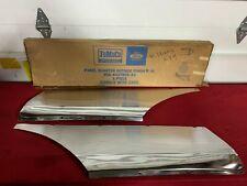 NOS 1959 FORD QUARTER PANEL WASHBOARDS / TRIM B9A-6427866-A FoMoCo 59  GALAXIE