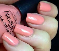 New! Nicole By Opi Carrie Underwood nail polish lacquer I'Ll Have The Salmon