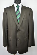 HUGO BOSS Super140s! Black Blazer UK 44L Wool Textured EUR 54L Long 106 Sakko Gr