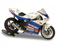 MOTO BIKE SUZUKI GSV-R #21 JOHN HOPKINS SOLIDO 2006 RACING 1/18 BLANC