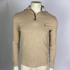 Polo Ralph Lauren Mens Sweater Beige Estate Rib Pullover Size XS NEW $89