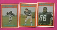 1972 OPC CFL TORONTO ARGONAUTS EX-MT  CARD LOT  (INV# C4517)