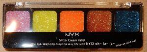 NYX Glitter Cream Pallet EDEN