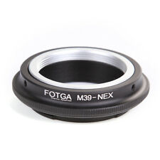 FOTGA Adapter For Leica L39 M39 Lens to Sony E-Mount A7III A6500 A7R NEX-3 5