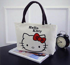 HelloKitty Handbag Tote Shoulder Bag  For Kids  2017 New Canvas Bow  Small Size