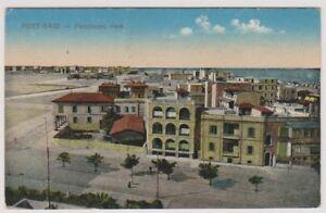 Egypt postcard - Port Said, Panoramic View (A32)