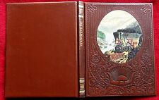 """TIME-LIFE ~OLD WEST SERIES ~""""THE RAILROADERS""""~ LEATHERETTE BOOK~ 2ND EDITION!"""