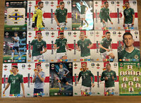 PANINI ADRENALYN XL EURO 2020 FULL TEAM SET OF ALL 18 NORTHERN IRELAND CARDS