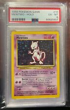 New listing 1999 Pokemon Base Set #10 Mewtwo Holo Psa 6