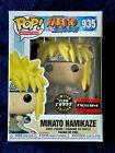 Funko Pop Minato Namikaze #935 Naruto Glows Exclusive Chase GITD W/Protector