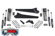 "Dodge Ram 4.5"" Lift Kit Radius Arms 3500 Diesel 2013-2015 Zone Offroad #D54"