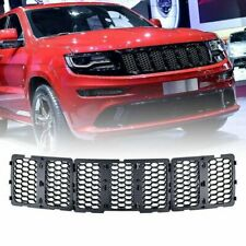 Front Grill Honeycomb Mesh Grille Insert Kit For Jeep Grand Cherokee 2014-2016