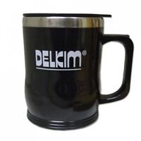 Delkim Stainless Steel Travel Mug With Lid