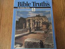 BJU Bible Truths 5 (2nd ed) student workbook