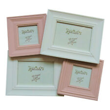 Blush Standing Multi Frame - Picture - Collage - 12x8cm - 6.5x6.5cm
