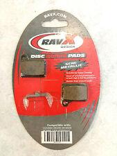 RavX Design Bicycle Disc Brake Pads Semi-Metallic FREE Shipping