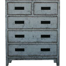 Grey Lacquer Reproduction - Chest of Drawer/Tall Boy (39-098)