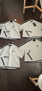 4 Shirts Same Design Womens Nike Crop Tops Size XS Retail $70 All NEW WITH TAGS