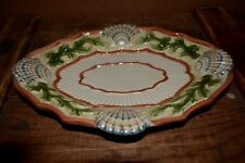 Fitz and Floyd Seashell Glass Dish