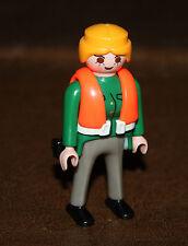 Playmobil personnage femme garde côte douanier 4471 ref nn