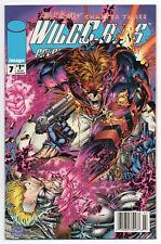 WILDC.A.T.S. #7   Vol. 1   Jim Lee   Newsstand UPC Variant   RARE   1994   NM