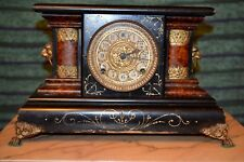 Kaminuhr - HOLZ - alt - Thor Extra manufactured by Wm. L. Gilbert Clock Co