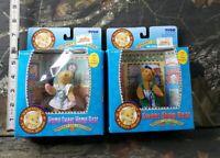 Vtg Tygo Vermont Tebby Bear Lot Pocket Home Sweet Shop Bear 66503-7 66503-8 DG