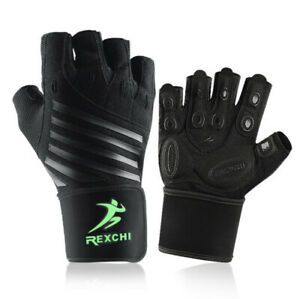 Workout Gloves, Weight Lifting Gloves with Wrist Wrap for Men & Women, Fitness
