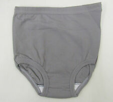 Gym Knickers size 8-10 Age 13-15yrs Netball Briefs sports panties Nylon Grey