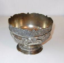 Beautiful Vintage Silver/ Pewter Ornate Bowl