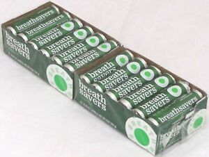 24 packs Breath Savers Spearmint Rolls Mints Breathsavers Mint Candy