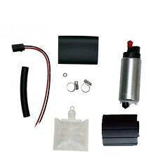 New 255LPH High Performance Electric Fuel Pump & Install Kit GSS341 GSS342