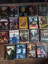 JOB LOT OF 19 HORROR ACTION THRILLER MOVIE DVD'S.