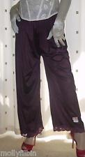 Vintage style purple silky nylon pantie slip~pettipant~culotte~bloomers 20~22