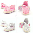 Baby Infant Kids Girl Soft Sole Toddler Crib Shoes 0-18 months Anti-slip Sandal