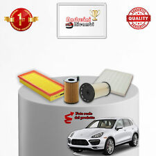 KIT TAGLIANDO FILTRI PORSCHE CAYENNE II 3.0 V6 Diesel 180KW DAL 2016 ->