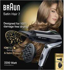 BRAUN SATIN HAIR 7 HD 730 DF HD730 - Haartrockner  Fön Diffusor mit Iontec OVP